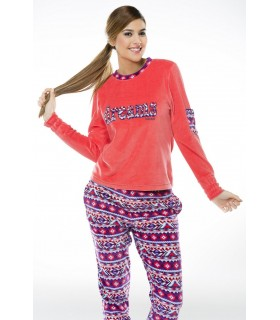 Woman pajamas with fists Intimo Moi 15210