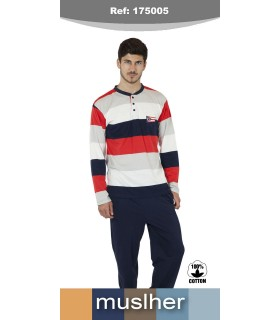 Pajama knit cotton knit muslher 175005