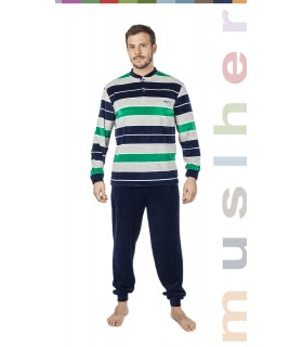 Winter velvet men pajama muslher 175600