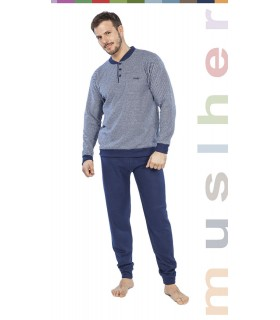 Men's Winter Pajamas Muslher 175623