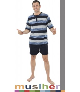Summer Cotton Pajamas Muslher 175019