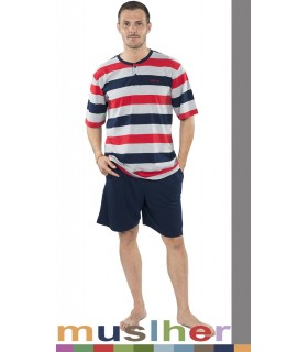 Summer Cotton Pajamas Muslher 185002