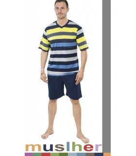 Cool pajamas for men's Muslher 185040