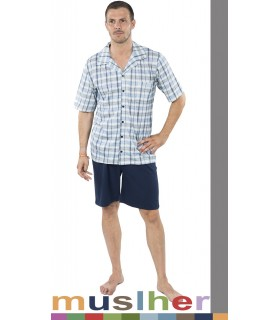 open and buttoned Pajamas Muslher 185020