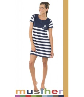 Sailor style nightdress Muslher style 187003