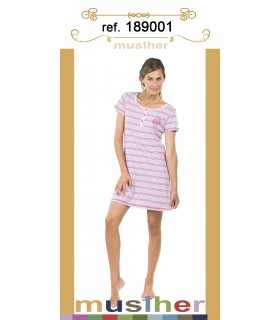 Cool summer nightdress for women Muslher 189001
