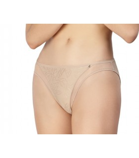Low Avet microfibre panty with transparency 33830