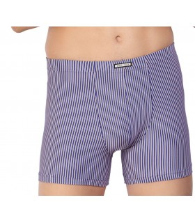 Boxer Long Pant Set Look microfiber 18844