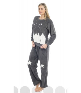 Woman extra warm polar pyjamas for Muslher 196623