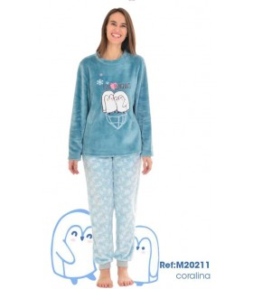 Women's winter pajama Olympus M20211
