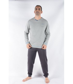 Men's Long Sleeve Cotton Pajamas Lee Cooper 220