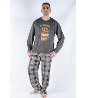 Men's Cotton Pajamas Pettrus 5439