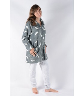 Winter Short sleeping gown Pettrus 2383