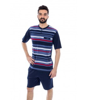 Men's Summer Pajamas Muslher 205002