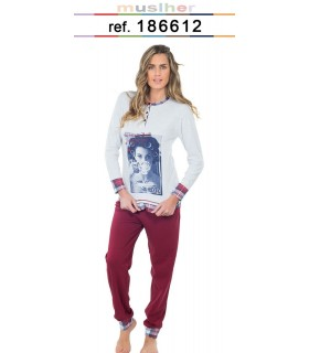 Muslher 186612 Women's Youth Pajamas