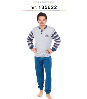 Men's interlock pajamas Muslher 185622