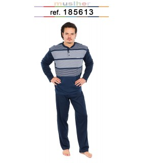 Men's fine-knit pajamas Muslher 185613