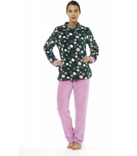 Belty 81910 Women's Winter Chubby Fleece Pajamas