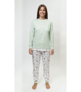 Muslher 216002 Women's Long and Fine Pajamas