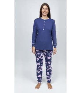 Finite long-sleeved pajamas for Mrs. Muslher 216005